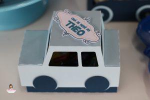 Chá de Bebê Meios de Transporte
