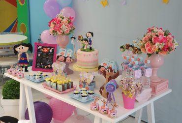 Festa Show da Luna em Candy Color