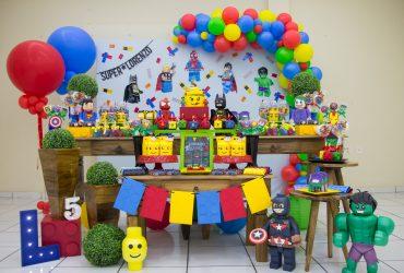 Festa Lego Super Heróis